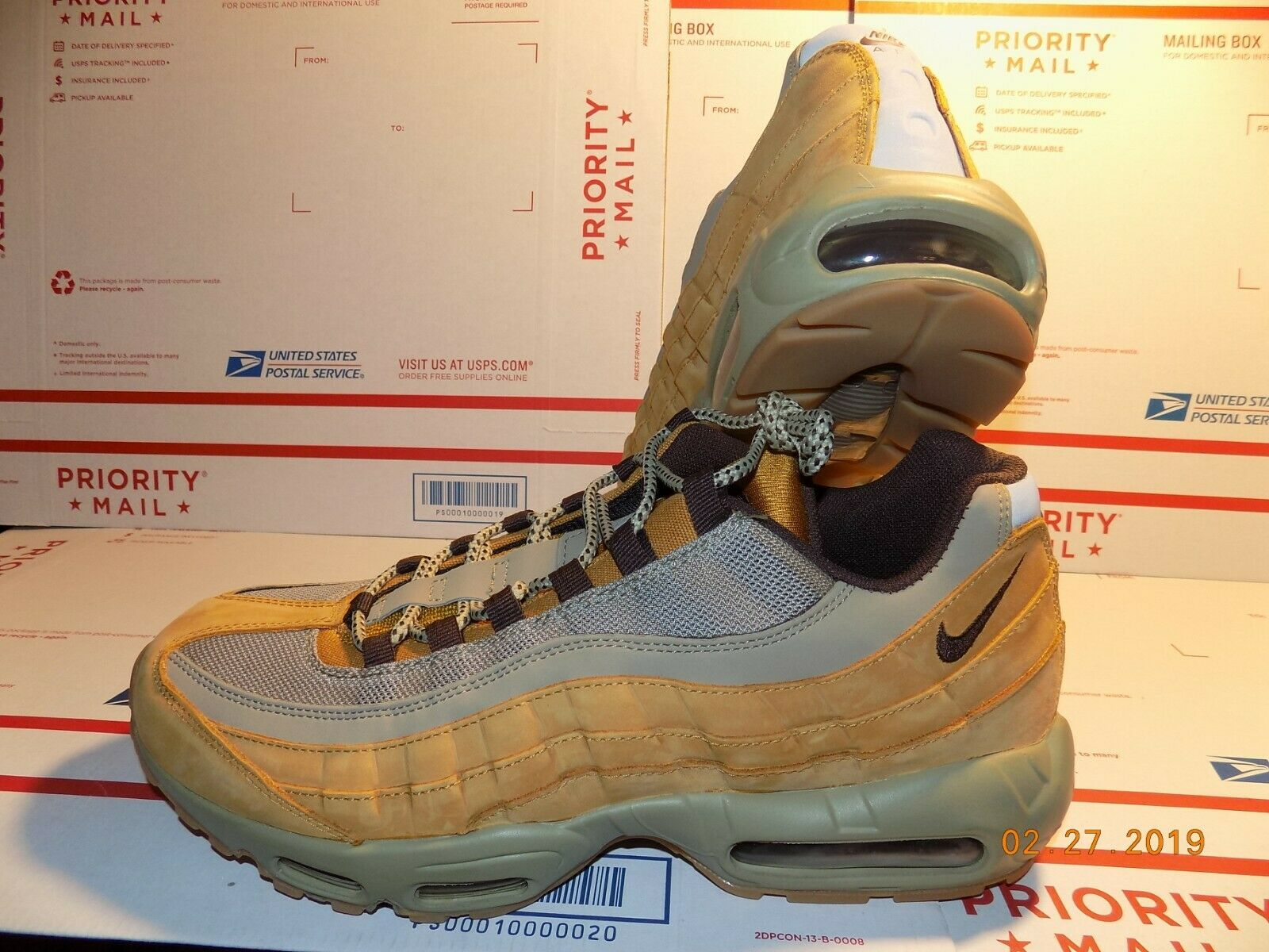 Men's Nike Air Max 95 PRM Wheat without box