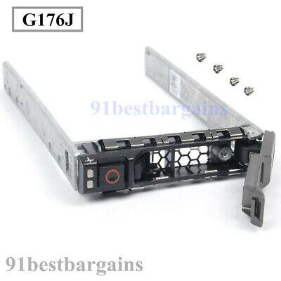 "G176J 2.5/"" SAS SATA HDD Hard Drive Tray Caddy for DELL PowerEdge R610 R720 R810"