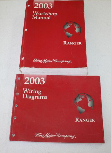 2003 Ford Ranger Manual  U0026 Wiring Diagram