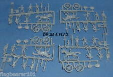 PRUSSIAN ARTILLERY. HAT 8007. NAPOLEONIC WARS. 1/72 SCALE PLASTIC. GENERIC BOX!