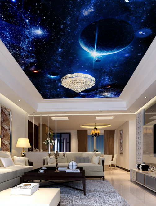 3D Cosmic Planet Blau 788 Wall Paper Wall Print Decal Wall Deco AJ WALLPAPER