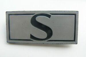 TALBOT-SIMCA-S-sigle-embleme-logo-insigne-monogramme-de-carrosserie-plastique