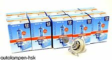 Osram H4 Lampe 12V 60/55W P43t  Spare Part 10 x Werkstattverpackung 66193 +TOP+
