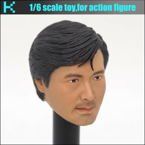 L26-35 1//6 scale a better tomorrow-Mark Chow yun-head sculpture