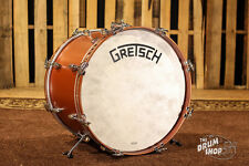 GRETSCH DRUMS Broadkaster Bass Drum 14x20 Satin Copper (Vintage Build)
