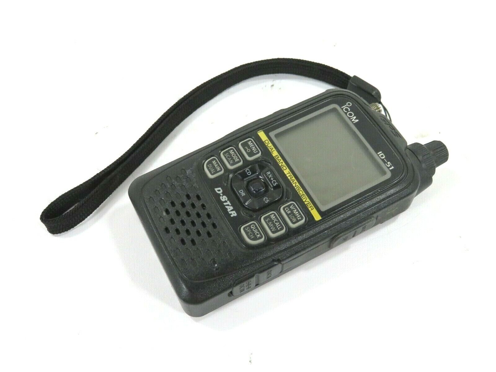 ICOM ID-51A Plus D-Star VHF-UHF Dual Band Transceiver . Available Now for 199.99