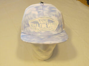 Details about Van s off the wall Vans trucker hat cap NEW Adult womens mesh  snap back   b8c954b74