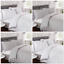 Rapport-034-Tassels-034-Duvet-Cover-Bedding-Set-White-Or-Grey thumbnail 1