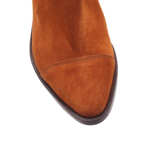 7 40 Uk Ankle Eu Sale Tan Rrp Boots Down Suede Kg Closing £150 R0zx6qw