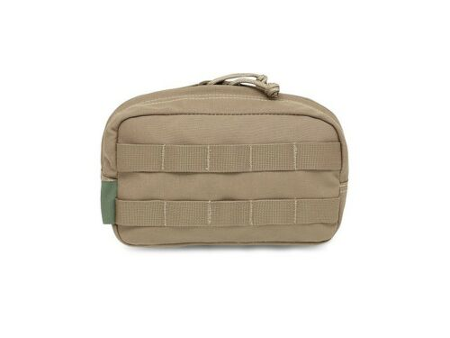 ELITE OPS MEDIUM HORIZONTAL MOLLE UTILITY POUCH ACCESSORY MULTICAM COYOTE TAN