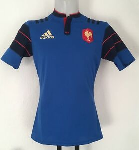 965919f95d6 FRANCE RUGBY 2015 16 S S HOME JERSEY BY ADIDAS SIZE MEN S LARGE ...
