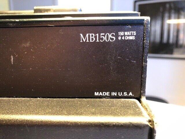 Bascombo, Gallien Krueger MB150S, 150 W