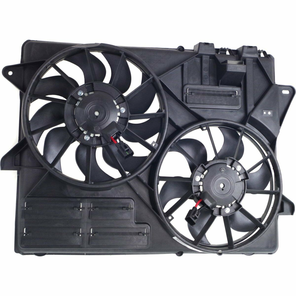 Dual Radiator and Condenser Fan Assembly TYC 623310 fits 15-19 Ford Mustang