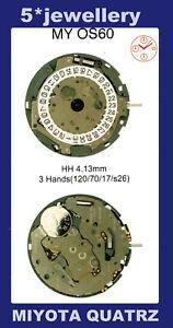 Miyota MY0S30 MY0S60 MY0S62 watch quartz battery movement complete works module