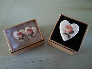 Vintage-Inspired-Handcrafted-Ceramic-Jewellery-Rose-Heart-Ring-or-Earrings