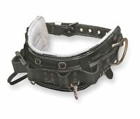 Miller 95n/d25br Full-floating Lineman's Belt With Leather Body Pad, Size D25