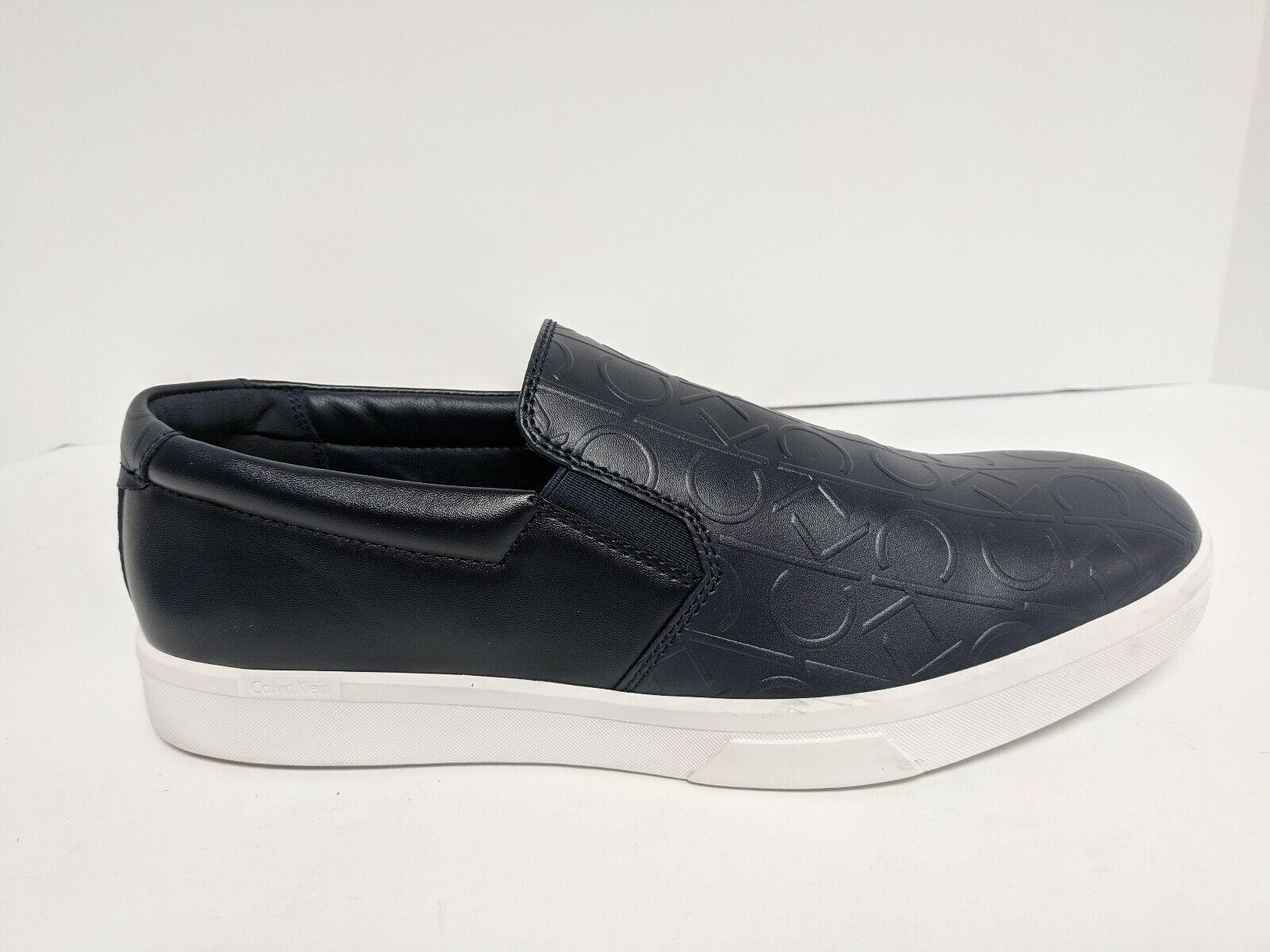 Calvin Klein Ivo Slip-On Loafers, Dark