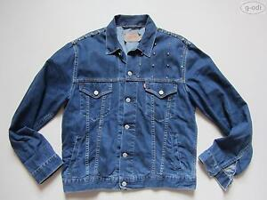 Jacket Jacke Herren Levi's NIETEN Details zu mit JeansjackeGrLCoolUnikatBiker jL4AcS35Rq