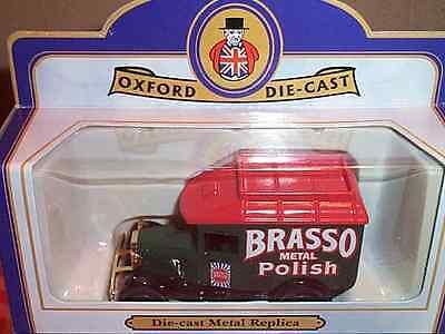 "Oxford Diecast Ford Model A Van ""brasso Metal Polish"" Fest In Der Struktur"