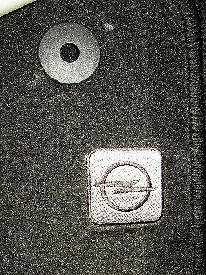 Teppich Satz Fußmatten Velour original Zafira B Family direkt vom Opel Händler