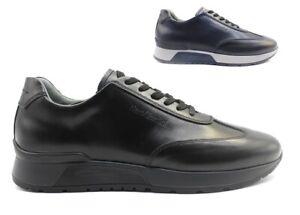 Scarpe da uomo Nero Giardini sneakers casual eleganti comode basse invernali