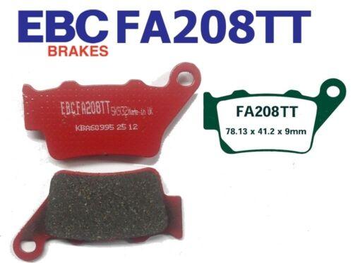 EBC Bremsbeläge Bremsklötze FA208TT HINTEN HUSABERG FS 450 E 06-08