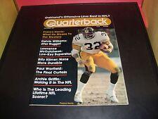 Franco Harris 1977 Pro Quarterback Magazine Pittsburgh Steelers NM Condition