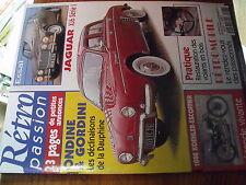 µ? Revue Retro Passion n°98 Jaguar XJ6 Dauphine Gordini 1959