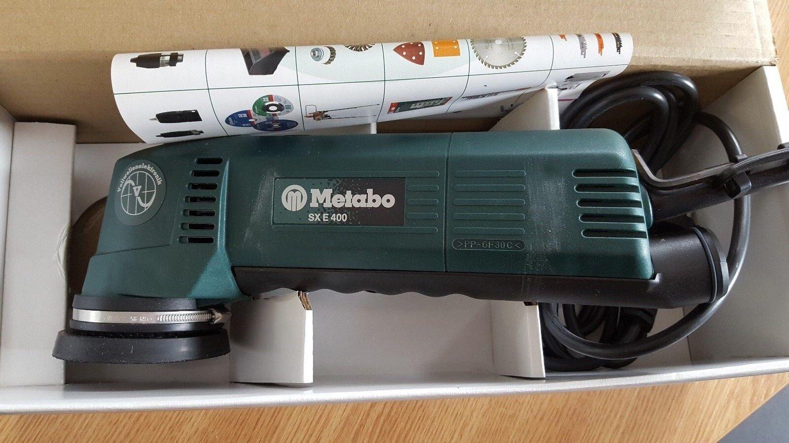 metabo exzenterschleifer sx e 400 | ebay