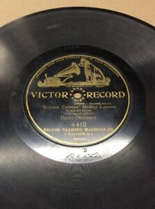 1904-Victor-Record-10-034-78rpm-Medley-Lancers-4412-FREE-SHIPPING-B50S27