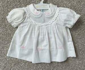 Feltman Bros NWT Infant Newborn Baby Girl Precious Fancy Dress Lace Dolls