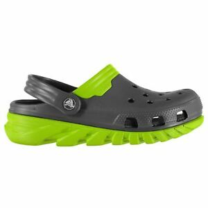 45bf94e9fbd Crocs Unisex Duet Max Clog Sandals Summer Shoes Walking Footwear ...