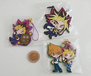 Yu-Gi-Oh-Duel-Monsters-Yugi-Muto-Yami-Yuugi-Joey-Wheeler-Kuriboh-Keychain-Strap