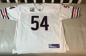 Details about NWOT Brian Urlacher Authentic Reebok Sewn Size 50 L Chicago Bears Captain Jersey