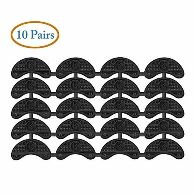 Mudder 10 Pairs Heel Plates Shoe Taps Tips Sole Repair Pad...