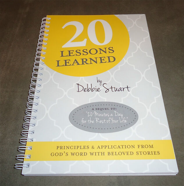 20 LESSONS LEARNED BY DEBBIE STUART