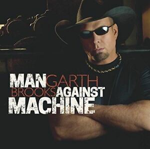 GARTH-BROOKS-Man-Against-MACHINE-Album-CD-endommage-BOITIER