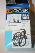 OWNER Ringed Gorilla 2//0 Hooks Saltwater 5305R-121 Value Pro Bulk Pack 28 pcs