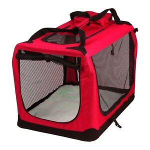Avc Pet Carrier Red Chien Pliable Chien Chat Chien Sac de Transport (Extra Large) 5060369505351