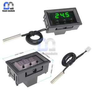 50-110-C-W1209-DC-12V-Digital-Thermostat-Temperature-Controller-Sensor-w-Case