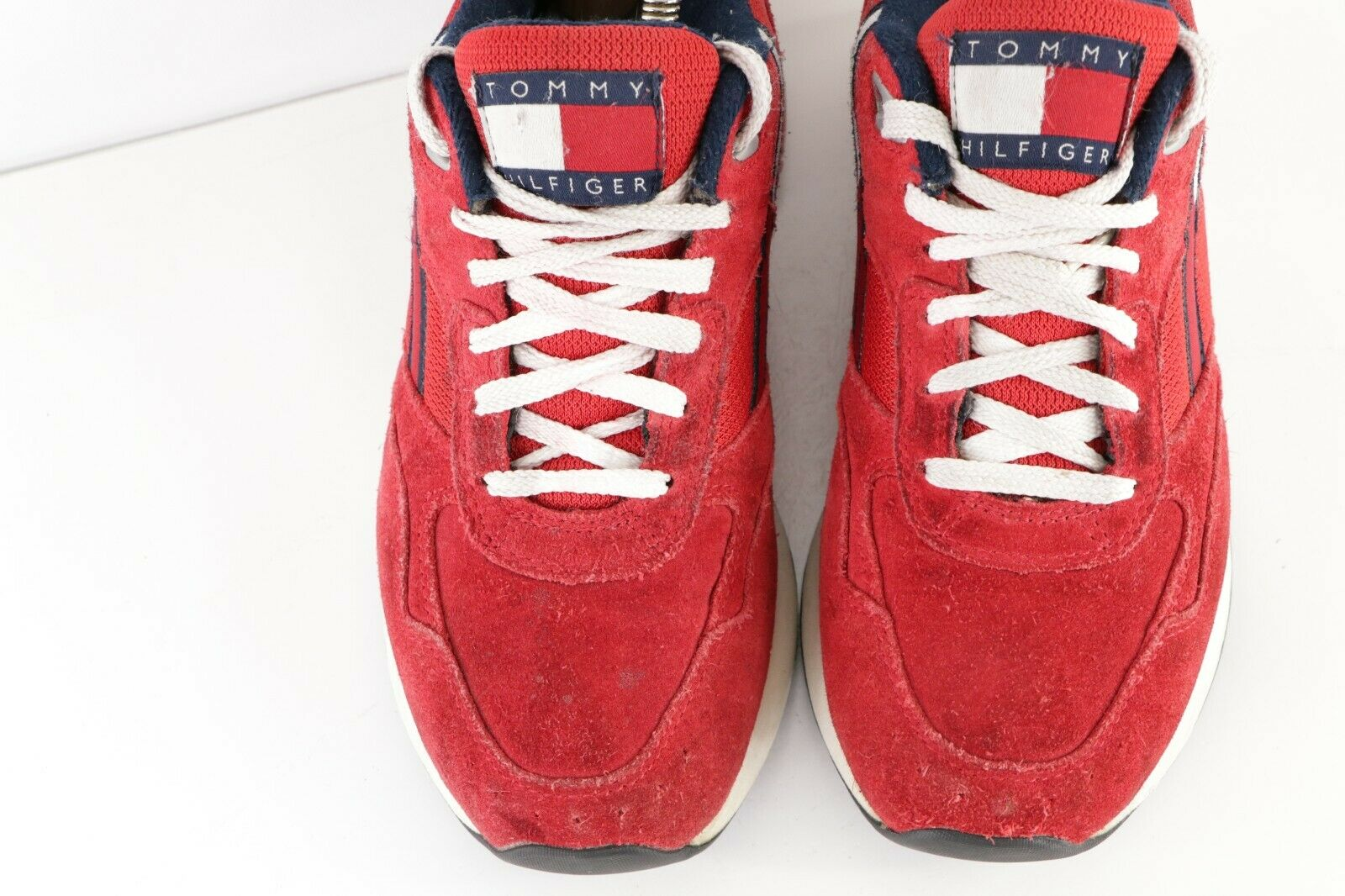 Vintage 90s Tommy Hilfiger Womens 8 Spell Out Sue… - image 3