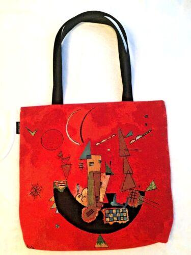 Against Shopping Bag grande X Tote 46cm Kandinsky belga Tapestry 46cm For vq64a4d5n