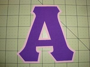 Custom 5 inch greek sorority fraternity no sew iron on for Sorority sewn on letters