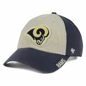 new products ca1c1 ec9ba Image is loading Los-Angeles-Rams-47-NFL-Middlebrook-CLEAN-UP-