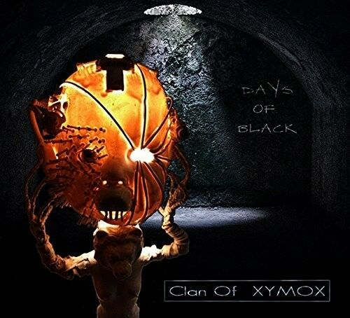 CLAN OF XYMOX - DAYS OF BLACK   CD NEW