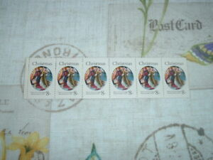 Image Is Loading 6 1972 CHRISTMAS 8 Cent Stamp MASTER OF