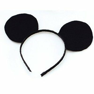 10 X Childrens Mouse Ears on Headband One Size Fits All HW243
