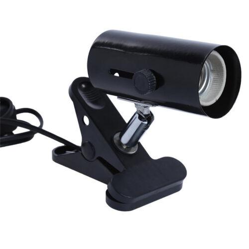 Metal Ceramic Heat UV UVB Lamp Light Holder Clamp Reptile Supplies Max 300W