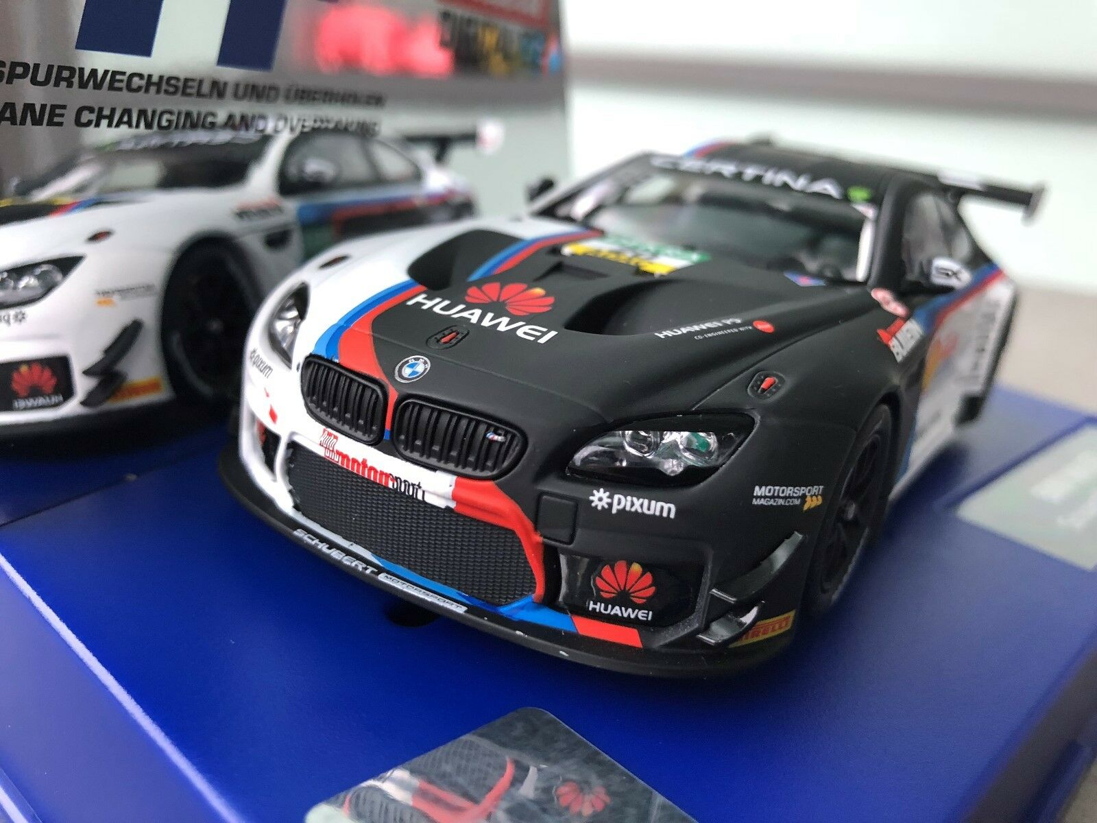 Carrera Digital 132 30810 BMW M6 GT3   Schubert Motorsport, no. 20   NIP