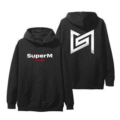 Kpop SuperM 1st Mini Album Hoodie Women Men Casual Pullover Sweatshirt Jumper